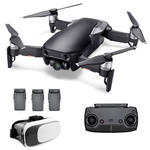 DJI Mavic Air Drone FLY MORE / Virtual Reality Combo (Onyx Black) - Drones Collection
