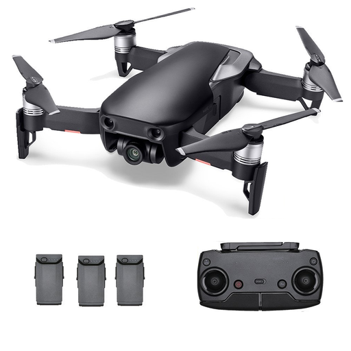 DJI Mavic Air Drone FLY MORE Starters Bundle (Onyx Black) - Drones Collection