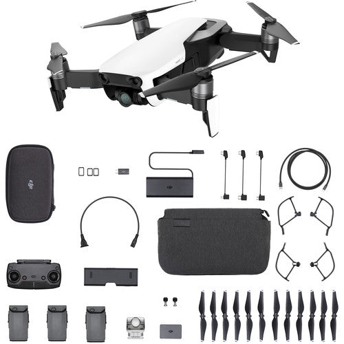 DJI Mavic Air (Arctic White) Fly More Combo - Drones Collection