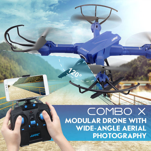 JJRC COMBO X Modular Drone with Remote- H38WH - Drones Collection