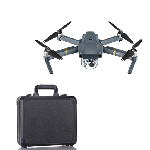 DJI Mavic Pro With 12MP / 4K Camera! BLACK ALUMINUM CASE Bundle - Drones Collection
