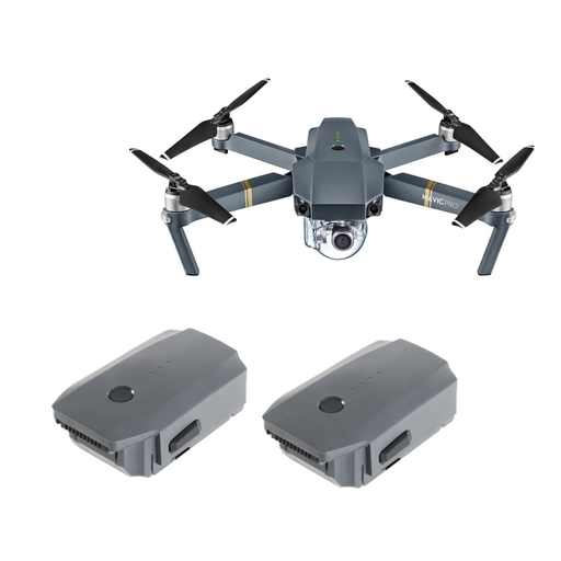 DJI Mavic Pro FLY MORE COMBO - Drones Collection