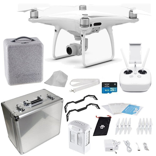 DJI Phantom 4 PRO Quadcopter Drone + Travel Bundle (Aluminum Case) - Drones Collection