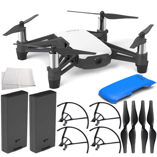 DJI Tello Quadcopter with Ryze Tech Snap-On Cover - Drones Collection