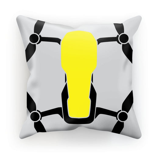 Yellow Drone Cushion - Drones Collection