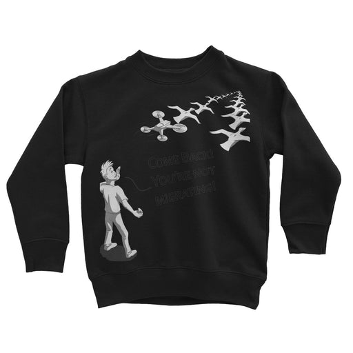 Funny drone Kids' Sweatshirt - Drones Collection