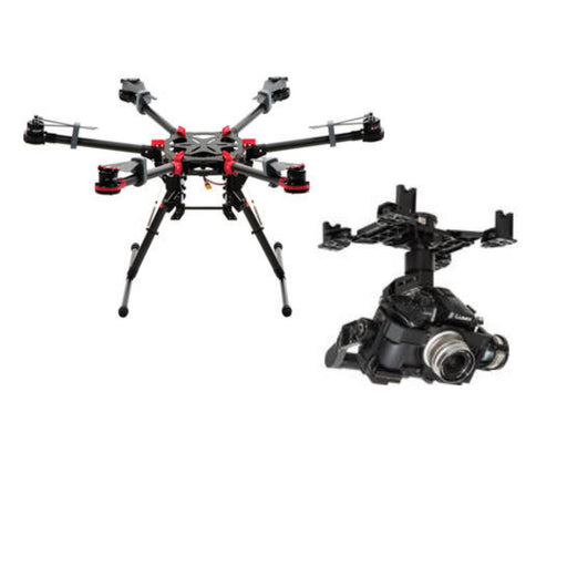 DJI Spreading Wings S900 With Zenmuse  Gimbal - Drones Collection