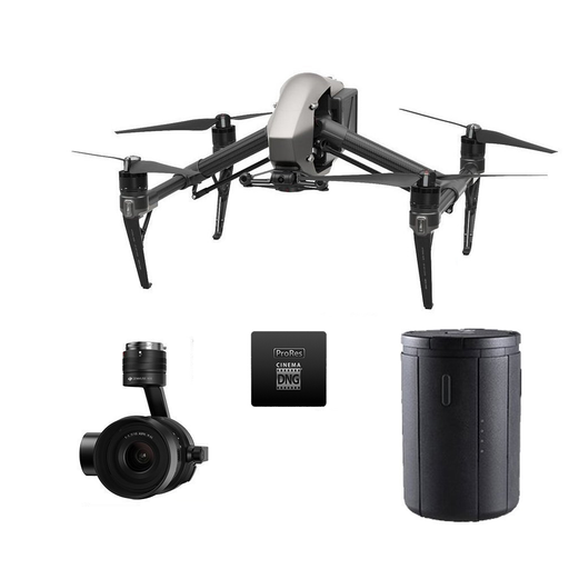 DJI Inspire 2 with Apple ProRes Licenses Ultimate Bundle - Drones Collection