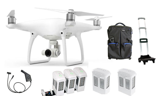 DJI Phantom 4 Drone Complete Flight Package - Drones Collection