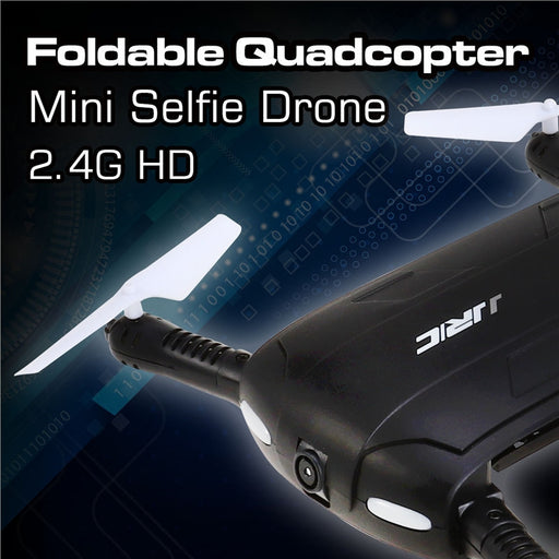 Foldable Quadcopter Mini Selfie Drone 2.4G HD WiFi Camera Headless FPV - Drones Collection
