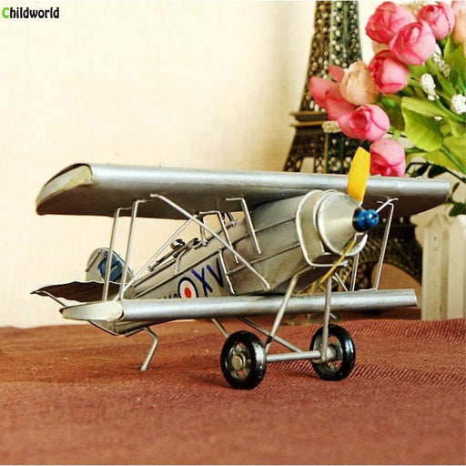 Vintage Handmade Metal Aircraft - Drones Collection