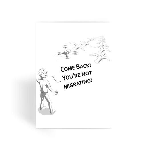 Greeting Card - Drones Collection