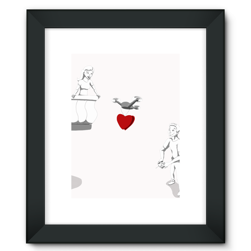 Framed Fine Art Print - Drones Collection