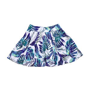 Twirl Skirt - Palm Leaves