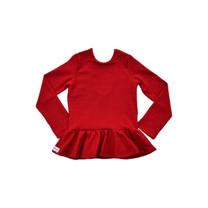 Peplum - Red