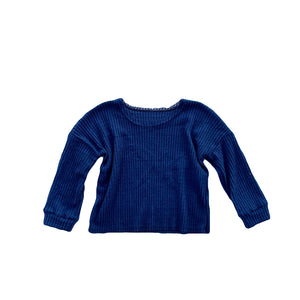 Sweater - Navy Blue
