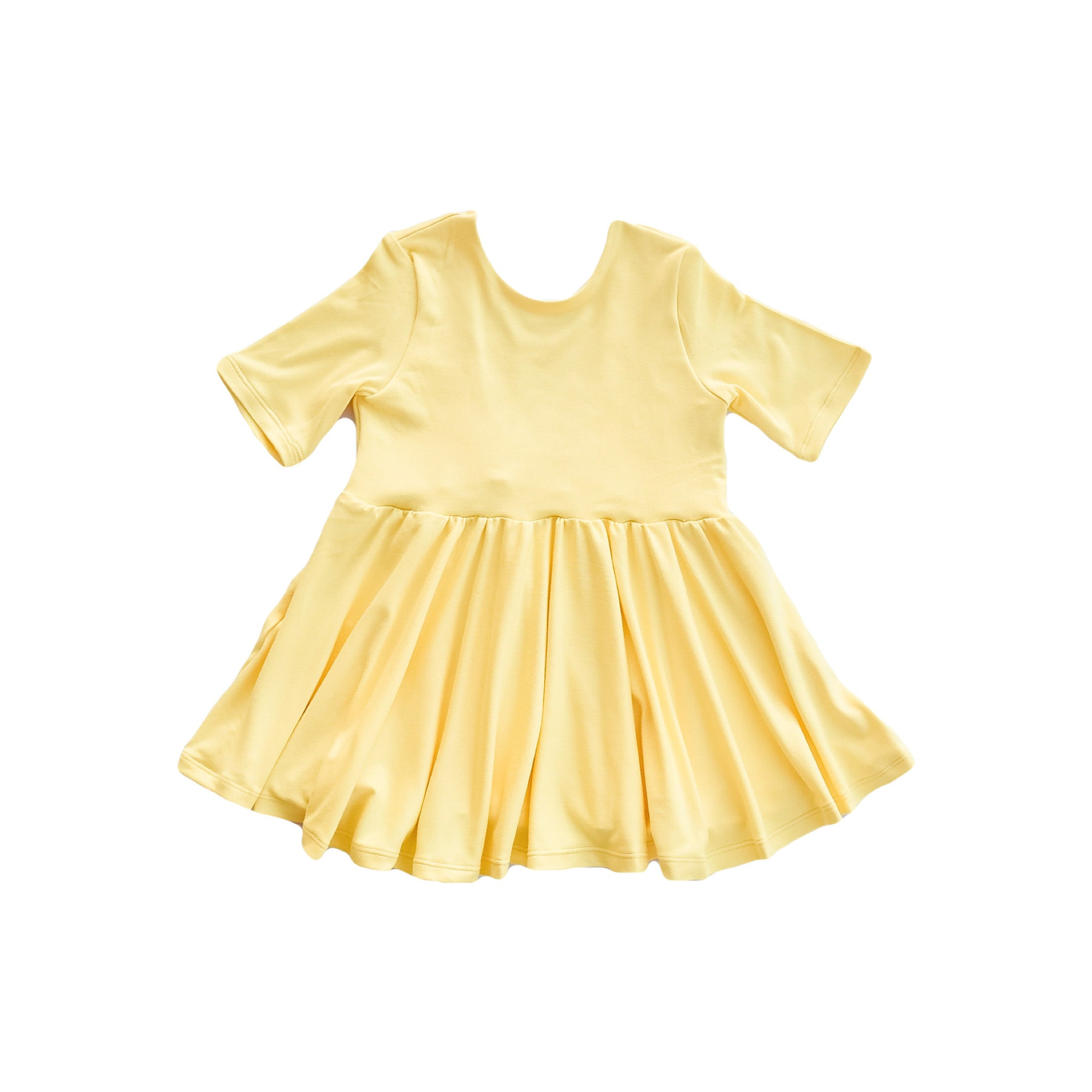 Baby Doll Top - Yellow