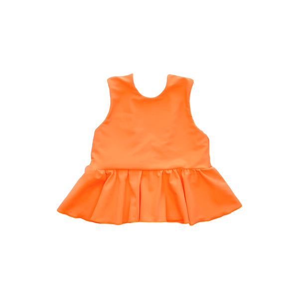 Swim Top - Neon Orange