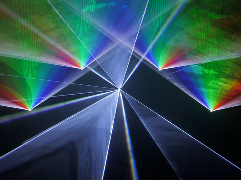 Transitional Energy Laser Show by Lyra Letourneau Example 1