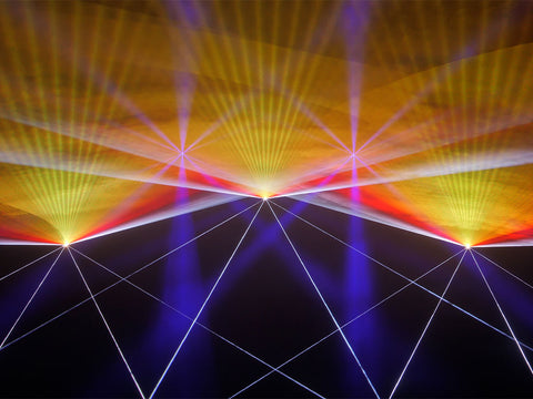 Transitional Energy Laser Show by Lyra Letourneau Example 2