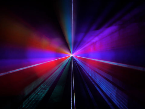 Tunnels Defocused Laser Show by Lyra Letourneau Example 2