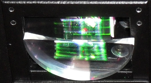 Safety Scan Lens before aperture