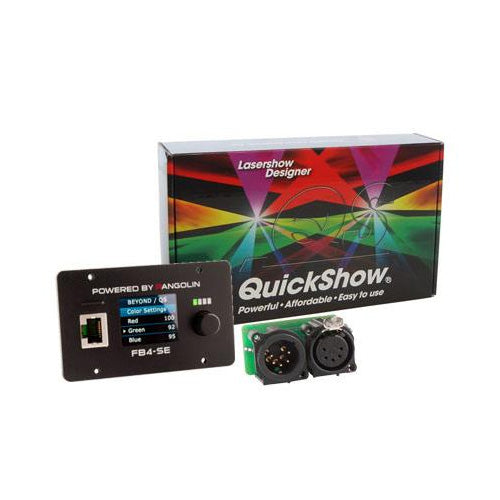 FB4 DMX with QuickShow