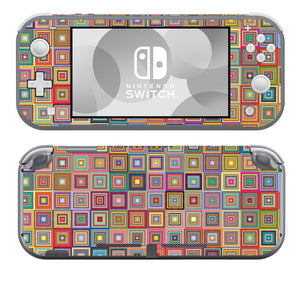 Abstract Squares SwitchLite Skins