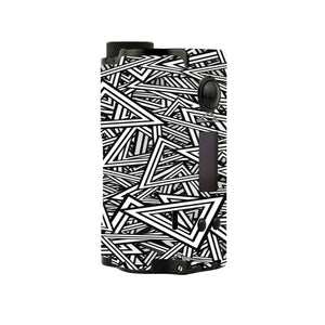 Abstract Triangles Topside Dual Skins