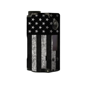 American Flag B/W Topside Squonk Skins