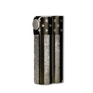 American Flag B/W Double Barrel Skin