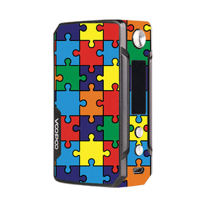 Autism Awareness Puzzle Voopoo Drag Mini Skins