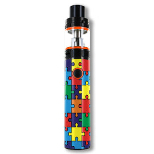 Autism Awareness Puzzle Smok Stick V8 Skins