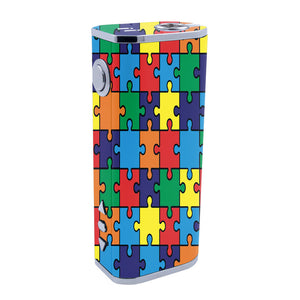 Autism Awareness Puzzle iStick 40w Skins