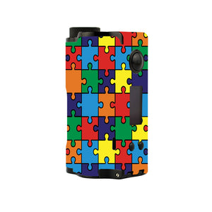 Autism Awareness Puzzle Topside Squonk Skins