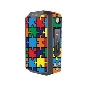 Autism Awareness Puzzle Tarot Nano Skins