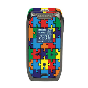 Autism Awareness Puzzle Revenger X Skin