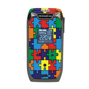 Autism Awareness Puzzle Revenger Go Skin