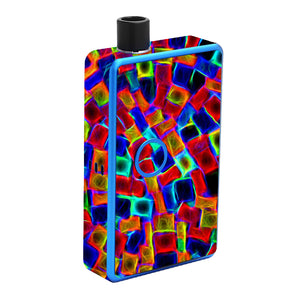 Color Cubes Billet Box Skin