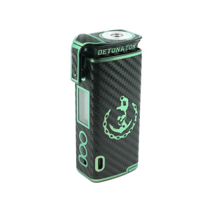 Dual Trim (Black Carbon/Green Pearlescent) Detonator Skin