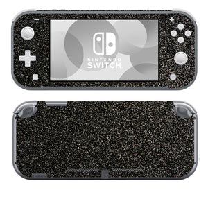 Black Sparkle SwitchLite Skins
