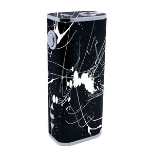 Black and White Splatter iStick 40w Skins