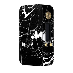 Black and White Splatter Dotmod DNA75 Skins