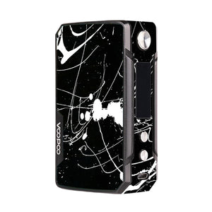 Black and White Splatter Voopoo Drag Mini Skins
