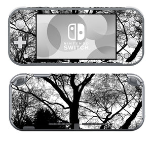 Black and White Trees SwitchLite Skins