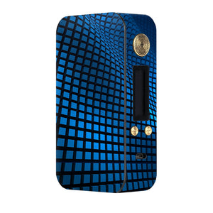Blue Wavy Grid Dotmod DNA75 Skins