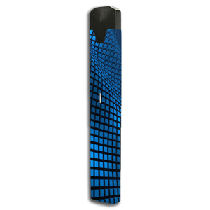 Blue Wavy Grid Bo One Skin