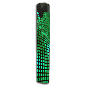 Green Wavy Grid Bo One Skin