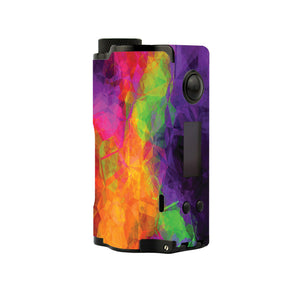 Color Mosaic Topside Squonk Skins