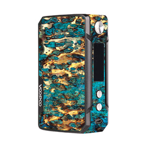 Cracked Gold Voopoo Drag Mini Skins